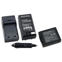 Kit Bateria Cga-s006 + Carregador Panasonic Lumix Dmc-fz35