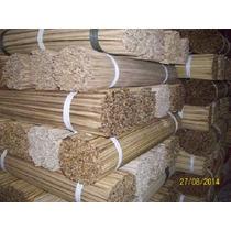 Vareta De Bambu 55 Cm P/ Pipas Gaiolas E Etc... C/ 900