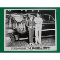 1969 Enrique Guzman La Princesa Hippie Foto Original 2