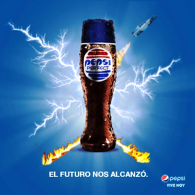 Vasos Pepsi Perfect - Volver Al Futuro 2 - Se Acaban..