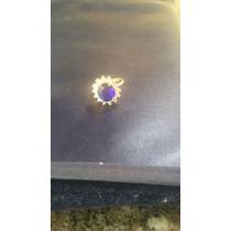 Rommanel - Joias - Semi-joias - Anel - Pedra Azul - Ouro18k.