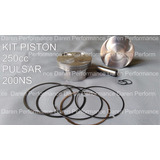 Kit Piston Racing 80mm Pulsar 200ns Ns200 250cc Competicion