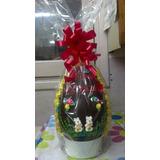Huevos De Pascua Personalizados Artesanales Con Figuras N°25