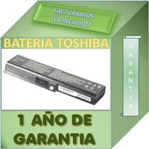 Bateria Para Laptop Toshiba Pa3817u-1brs Garantia 1 Año