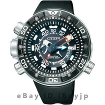 Citizen Bn2029-01e New Aqualand Depth Meter Pronta Entrega