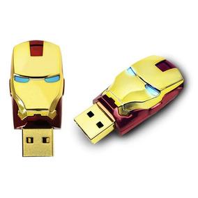 Oferta! Pendrive 8gb Homem De Ferro Iron Man Vingadores