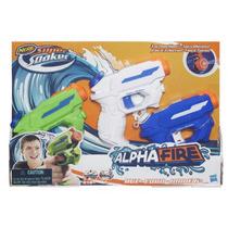 Lançador Nerf Alphafire Pack Com 3 - Hasbro