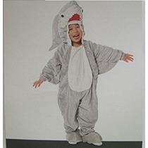 Disfraz Para Niño Traje De Niño ~ Gran Tiburón Blanco Mese