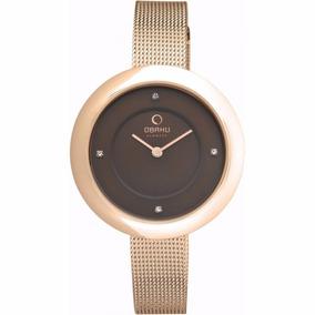 Reloj Obaku V162lxvnmv Dama Oro Rosa Original Envío Gratis**