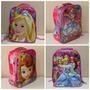 Mochila Infantil Costas Barbie, Sofia, Cinderela 3d
