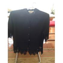 Vendo Bluza Y Falda Negra De Vestir Marca Importada