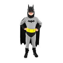 Fantasia Batman Infantil Longo Tam G (10 - 12 Anos)