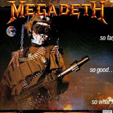 Cd Megadeth - So Far, So Good.. So What ! + Bonus Tracks