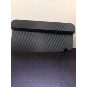 Acabamento Radiador Gol Quadrado Adesivo Fibra De Carbono