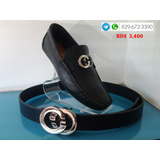 Zapato Gucci Color Negro