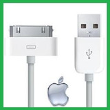 Cabo Usb Iphone Dados E Carregador Ipad Ipod 3g 3gs 4g 4s *