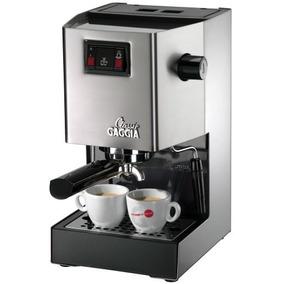 Cafetera Gaggia 14101 Classic Espresso Machine, Brushed S