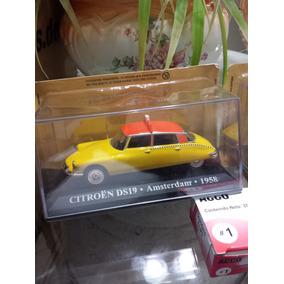 De La Coleccion Taxis Del Mundo. Citroen Ds.en Escala 1:43.