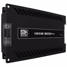 Banda Ice 5000 Rms Viking 2 Ohms Amplificador Digital Pareda