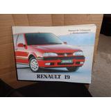 Manual De Renault 19. Zona Lanus