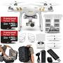 Dron Dji Phantom 3 Quadcopter Profesional Con 4k Cámara Y 3
