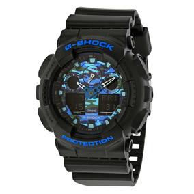 Reloj Casio G Shock Ga-100cb-1a Antimagnetico Wr200m