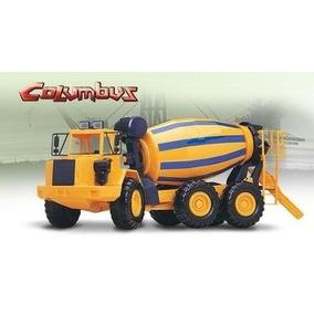 Caminhão Betoneira Columbus Roma Brinquedos