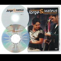 Dvd Jorge E Mateus O Mundo E Tao Pequeno