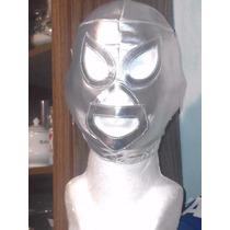 Mascara Luchador Del Santo Enmascarado De Plata P/niño