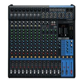 Mesa De Som Yamaha Mg16xu | Original | Nfe | 1 Ano Garantia
