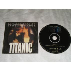 James Horner Titanic Rose Southampton Cd Promo Sony 1998