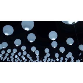 50 Globos Luz Led Eventos Fiesta Cumpleaños Xv Años Bautizo