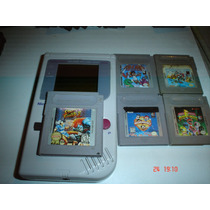 Game Boy Tabique Con 6 Juegos Mario Street Power Kid Icarus
