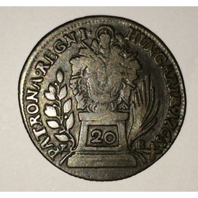 Moeda Húngara 1765 - 20 Krajczar