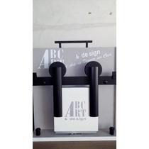 Kit Porta De Correr Roldana Aparente Abaul Preto 1,5m Ou 2m