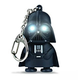 Llavero Linterna Led Y Sonido Star Wars - Darth Vader