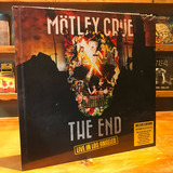 Mötley Crüe The End Live In Los Angeles Cd Dvd Bluray Book