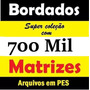 700.000 Matrizes Bordados Dst Pes Jef Brother Download