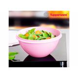 Tupperware- 2 Tigelas Maravilhosas Verm + 2 Tigs Marav Rosas