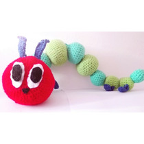 Very Hungry Caterpillar A Crochet (oruga Hambrienta)
