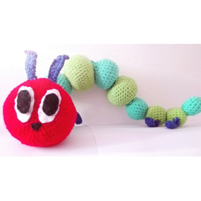 Very Hungry Caterpillar A Crochet (oruga Hambrienta)