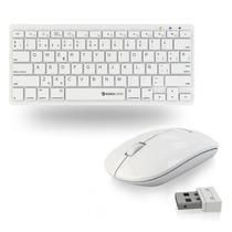 Combo Mouse Inalambrico + Teclado Usb Blanco Mac Eurocase