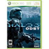 Halo 3 Odst Nuevo Xbox 360 Dakmor