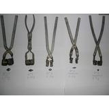 Forma De Chumbadas De Metal -- Kit C/10 Formas Frete Gratis