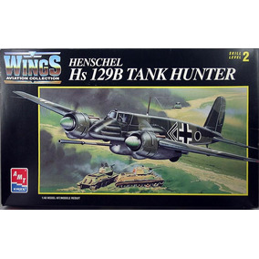 Henschel Hs-129 B Tank Hunter 1/48 Tipo Kit Revell E Tamiya