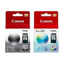 Kit 2 Cartuchos Canon Pg210 & Cl211 Para Mp140 Mp240 Mp250