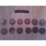 Doce Monedas Antiguas De Bs 5. Venezuela. Año 1989. Lvbp13