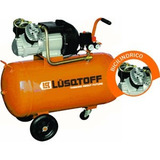 Compresor De Aire 4hp 100l Lusqtoff Lc-40100bd Bicilindrico