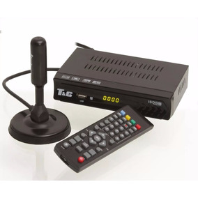 Kit 3 Conversor Digital Analógico + 1 Antena Hd Terna Uhf