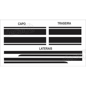 Adesivo Faixa Lateral, Capo E Traseira Mini Cooper Imp8